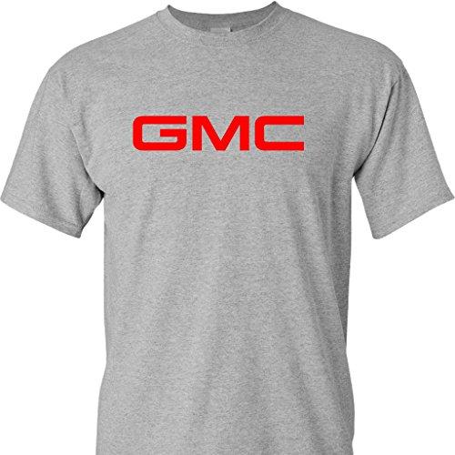 Gmc Logo On A Sports Grey T Shirt