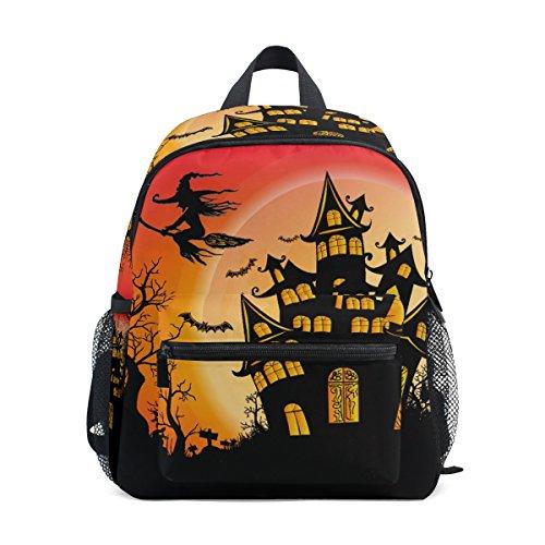 nbsp;Backpack nbsp;Bag Witch Boys Halloween Kids nbsp;Toddler nbsp;Girls nbsp;School ZZKKO nbsp;for Castle nbsp;Book faSZqnw