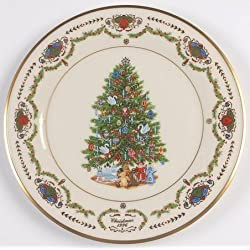 lenox christmas trees around the world 1996