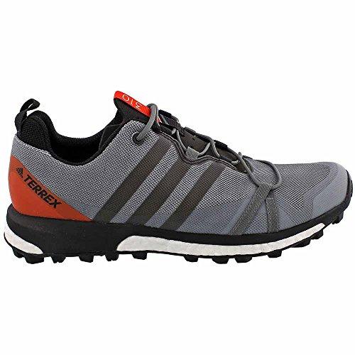 Adidas Outdoor Terrex Agravic Schoen - Heren Vista Grijs / Zwart / Energie, 10,5