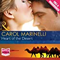 Heart of the Desert Audiobook by Carol Marinelli Narrated by Charlotte Strevens