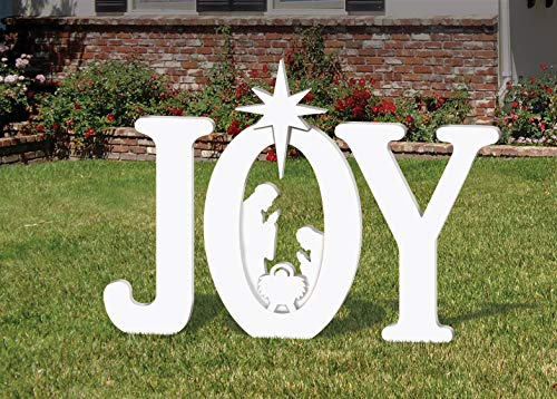 (OUTDOOR JOY NATIVITY DISPLAY)