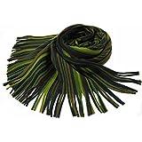 Rotfuchs Scarf - knitted, green grey 100% wool (Merino)