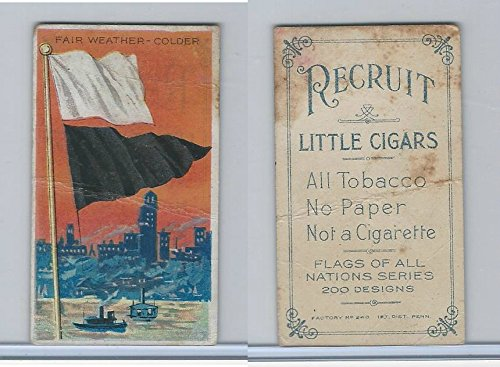 T59 American Tobacco, Flags of all Nations, 1910, Fair