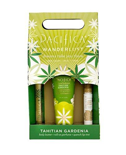 Pacifica Tahitian Gardenia Wanderlust Set (Tahitian Gardenia Butter Body)