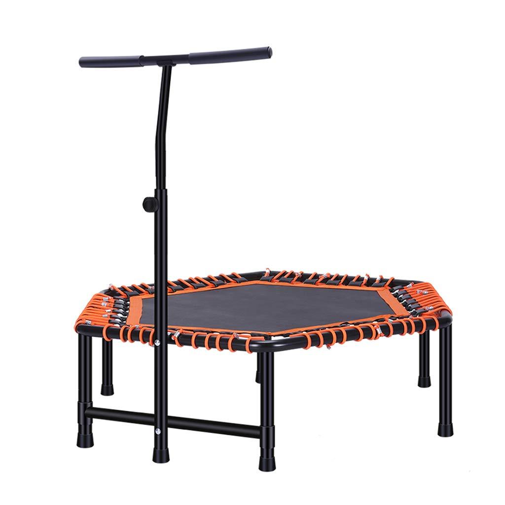 Ren Chang Jia Shi Pin Firm Indoortrampoline Trampolin Mini Trampolin Fitness Trampolin mit Griff Sport Gewicht Verlust Ausrüstung Falten Elastischen Seil Sprungbett