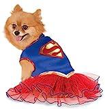 DC Comics Super Girl Pet Tutu Dress, Large