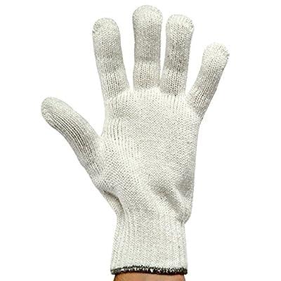 UltraSource String Knit Gloves, Men (Pack of 12)
