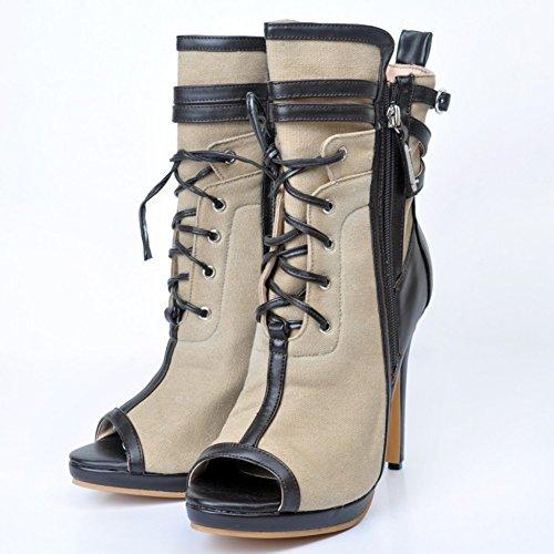 Handmade à de Kolnoo Chaussures hauts gray talon Femmes talons COnxB