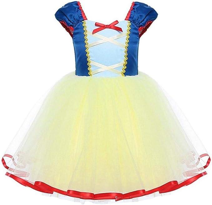 VJGOAL Vestido de niña Vestido de Fiesta de cumpleaños de Boda de ...