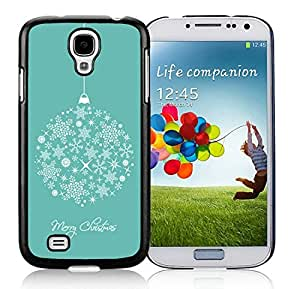 Featured Desin Samsung S4 TPU Protective Skin Cover Merry Christmas Black Samsung Galaxy S4 i9500 Case 13