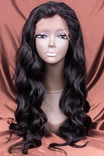 Amazoncom Luffywig Body Wave Human Hair Wigs Silk Base Virgin