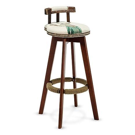 Prime Amazon Com Bseack Bar Stool Counter High Stool With Machost Co Dining Chair Design Ideas Machostcouk