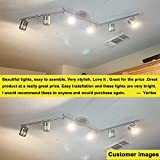DLLT 6-Light Track Lighting Fixtures Swing