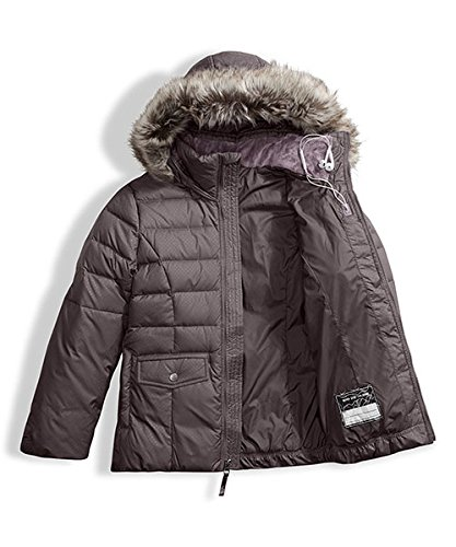 The North Face Big Girls' Gotham 2.0 Down Jacket - rabbit grey, l/14-16 by The North Face (Image #4)
