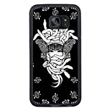 Crooks And Castles Black Shell Phone Case Fit For Samsung Galaxy S7 Edge,Beautiful Cover