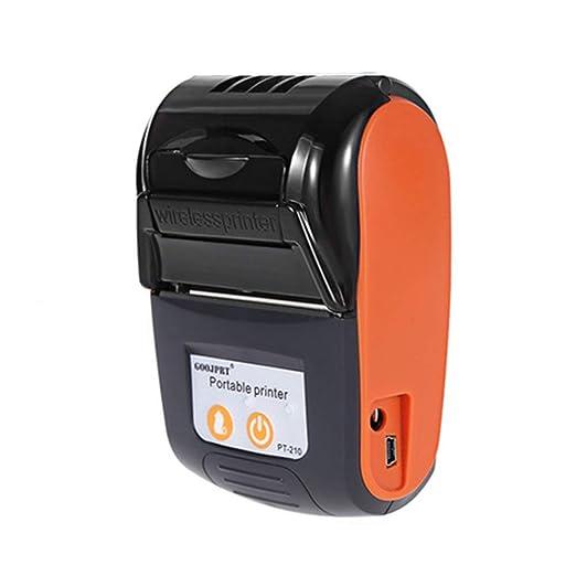 Impresora receptora térmica móvil Bluetooth,impresora ...