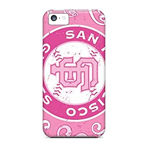 Defender Cases With Nice Appearance (san Francisco Giants) For Iphone 5c
