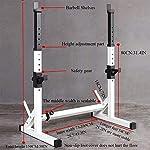 BWJL-Squat-Rack-Pesi-Panca-Supporto-bilanciere-Fitness-e-Supporto-per-manubri-Basamento-Peso-per-Coperta-Palestra
