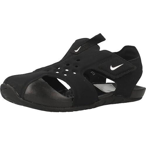 brand new c6912 cf55d Nike Sunray Protect 2 (TD), Sandales Plateforme Mixte bébé, Noir (Black
