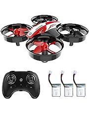 Holy Stone HS210 Mini Drone RC Nano Quadcopter Mejor Drone para niños y Principiantes Avión de helicóptero RC con Auto Hovering, 3D Flip, Modo sin Cabeza y baterías adicionales