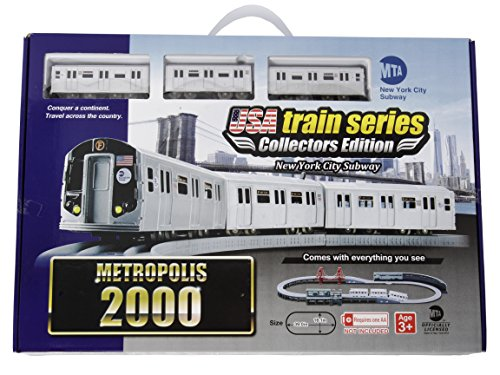 - LEC USA 2000 MTA New York City Subway Battery Operated Train Set