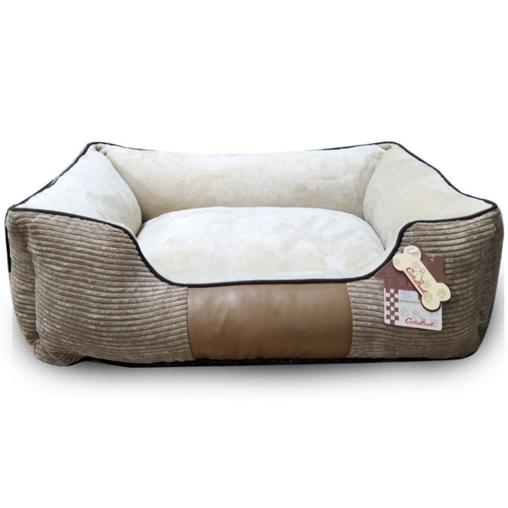 B Small B Small Qi Dog Bed Mat For Teddy golden Hair Pomeranian Large And Small Dogs Pet Kennel Mat (color   B, Size   S)