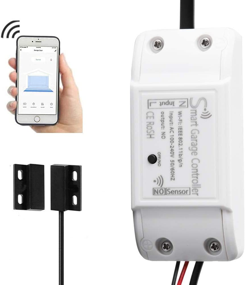 Universal Wireless Garage Door Opener APP Remote Controll WIFI Switch For Gate