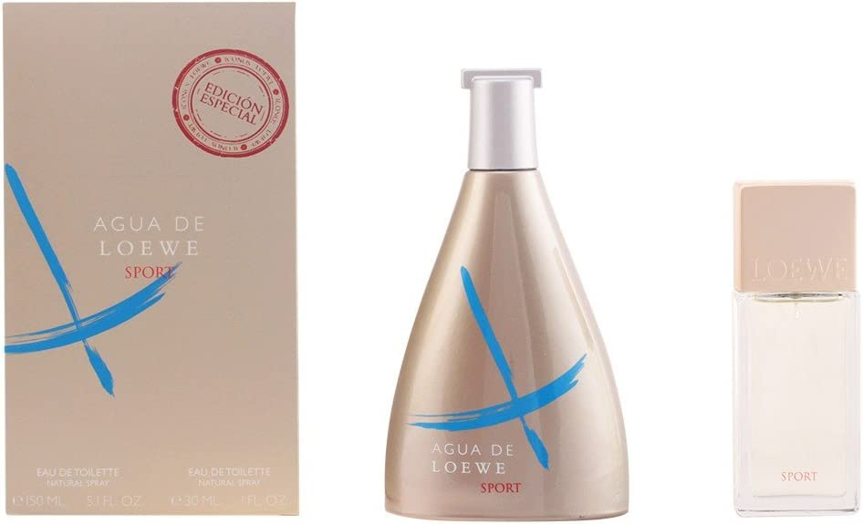 Loewe - Estuche de regalo eau de toilette agua sport 150 ml + 30 ml: Amazon.es: Belleza