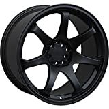 XXR 551 18 Black Wheel / Rim 5x100 & 5x4.5 with a 36mm Offset and a 73.1 Hub Bore. Partnumber 551881022