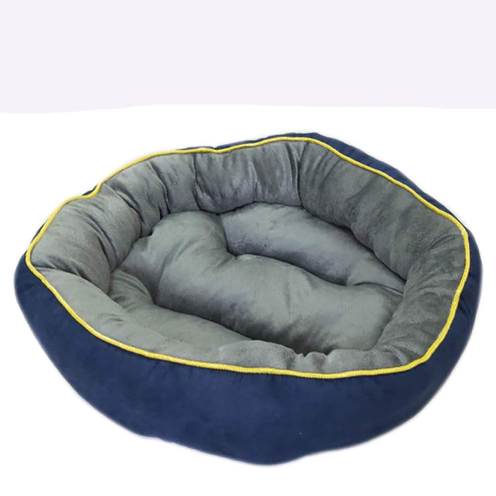 S(40x40x15cm) Basics Round Pet Beds,cat and Dog Bed Pet Mats (Size   S(40x40x15cm))