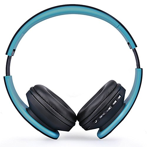 esonstyle over ear bluetooth headphones foldable wireless bluetooth stereo headset wired. Black Bedroom Furniture Sets. Home Design Ideas