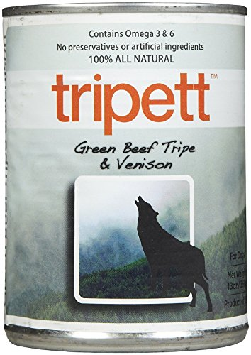 Tripett Green Beef Tripe with Venison -12 x 13 oz ()