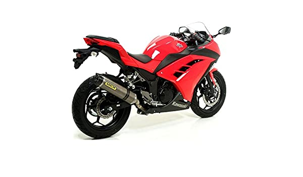 TUBO ESCAPE ARROW THUNDER ALUMINIO CARBY KAWASAKI NINJA 250 ...
