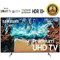 Samsung-UN82NU8000 82 NU8000 Smart 4K Ultra HD QLED TV (2018) Bundle with 2 Year Extended Warranty - UN82NU8000 82NU8000 NU8000