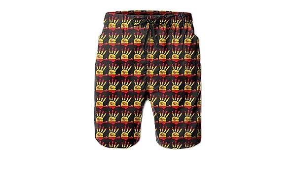 Troncos de natación de Verano para Hombres Bandera de españa Palma Bañador para Correr de Secado rápido Pantalones Cortos Boader Bañador de Playa Deportes: Amazon.es: Ropa y accesorios