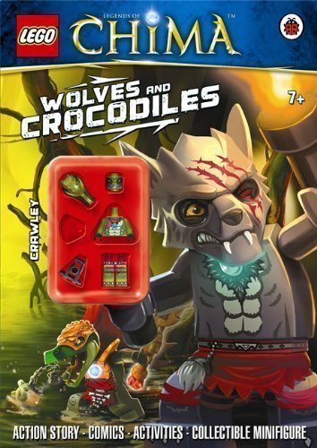 LEGO Legends of Chima: Wolves and Crocodiles Activity Book with Minifigure (Lego Legends of Chima/Minfigur) by Ladybird ( (Lego Chima Book Minifigure)