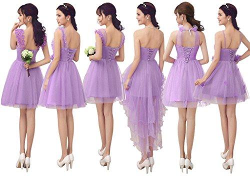 Drasawee Linie A Damen Beige E Brautschleier Purple rCrvczxTwq