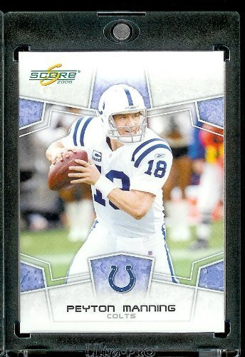 - 2008 Score Football Card # 127 Peyton Manning QB - Indianapolis Colts - NFL Trading Card