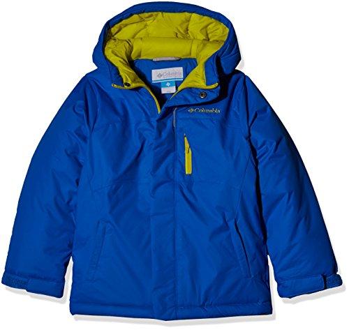 Columbia Boys' Alpine Free Fall Jacket, Super Blue, Medium