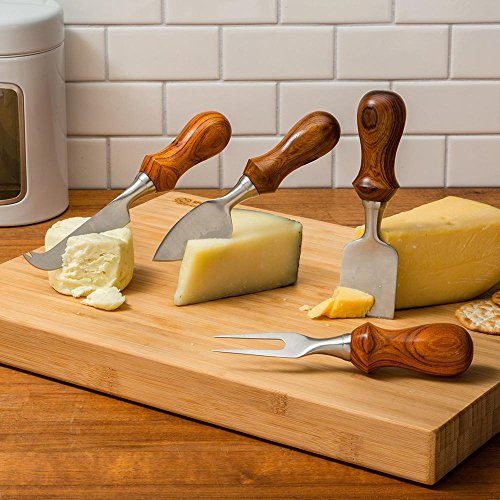 Rockler Four-Piece Cheese Knife Turning Kit - Four Piece Cheese