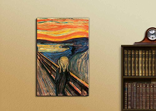 The Scream by Edvard Munch Wall Decor