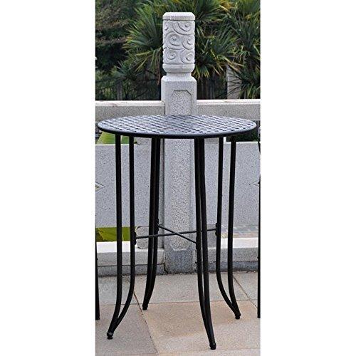International Caravan Bar-Height Patio Bistro Table