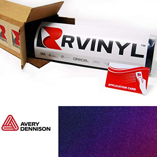 (Avery SW900 552-S ColorFlow Gloss Roaring Thunder Supreme Wrapping Film Vinyl Vehicle Car Wrap Sheet Roll - (12