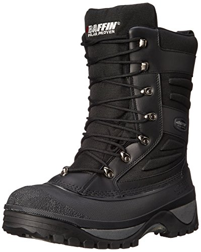 Baffin Men's Crossfire Snow Boot,Black,9 M US
