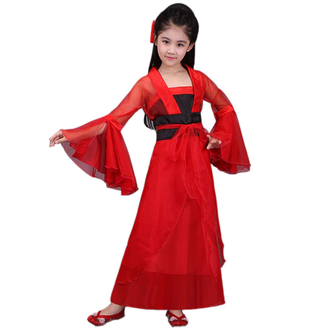 Amazon.com: Ez-sofei - Disfraz de Hanfu tradicional chino ...