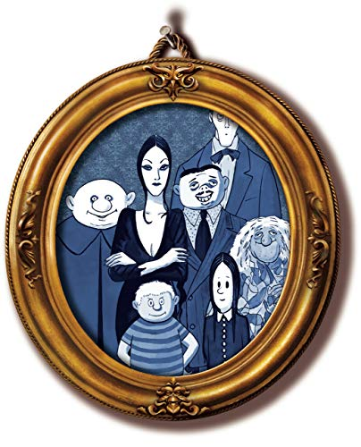 The Addams Family Gomez Wednesday Morticia Uncle Fester Edible Cake Topper Image C01 L01 - 1/8 sheet