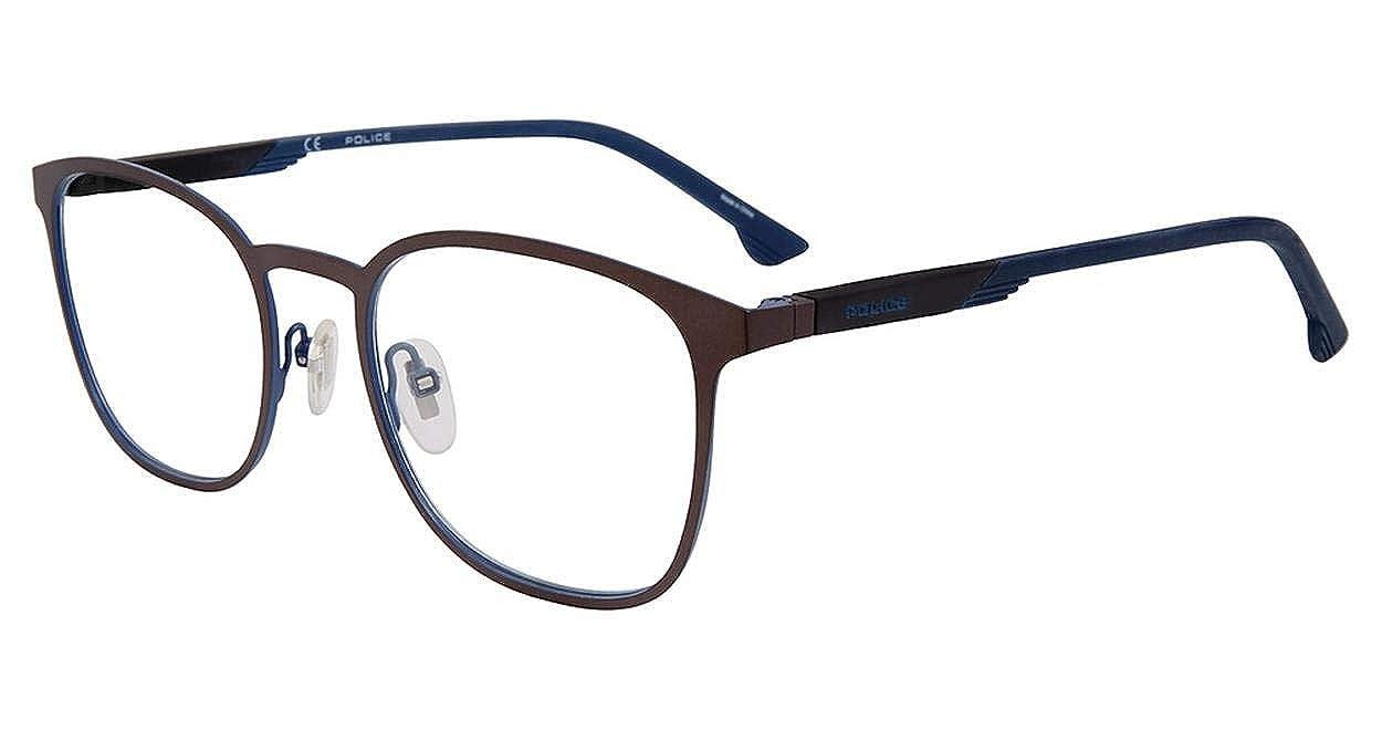 Eyeglasses Police VPL 801 Brown OXNF
