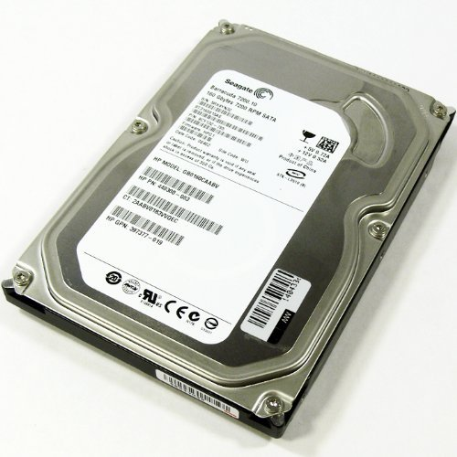Seagate Barracuda ST3160815AS 160GB 7200 RPM 8MB Cache SATA 3.0Gb/s Hard Drive (Certified Refurbished)