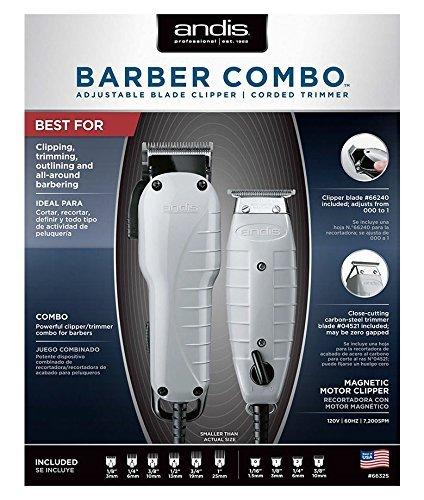 【最安値】 ANDIS Professional Barber CL-66325 Combo Adjustable Clipper with Trimmer Clipper CL-66325 Color (並行輸入品) One Size One Color B07DGW57DD, アサグン:959aa4c2 --- mvd.ee